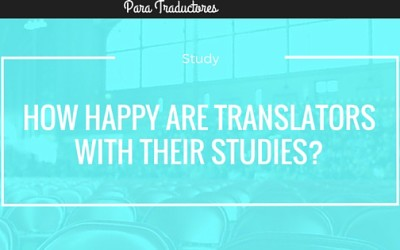 How happy are translators with their studies?
