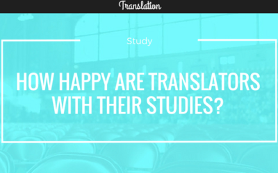How happy are translators with their studies